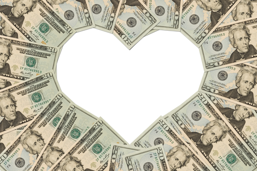 A pénz = szeretet